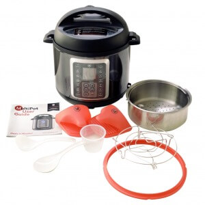 Mealthy pressure cooker accessory package